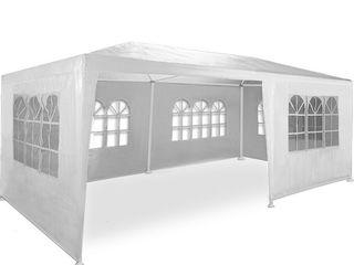 Палатка-павилион-шатер 3х6м, белая, со стенками (торгово-садовая)! абсолютно новая, в упаковке!