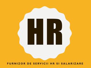 Servicii resurse umane HR si salarizare