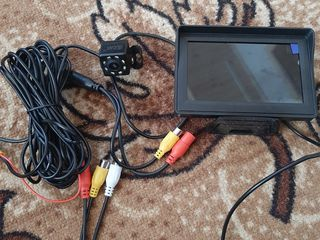 Camera spate cu monitor