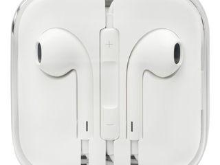 Apple наушники, оригинал, новые запечатанные - 450 лей for iPhone 6-7-8-10 !