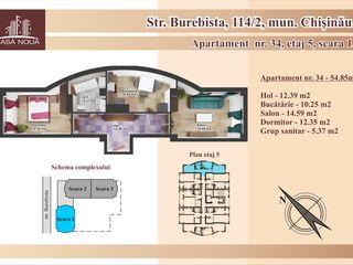 Vindem  apartamente la pret de  530 euro/m2.