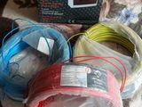 Продам кабель для проводки, 3 лея за 1 метр. Там по 160 метров каждого цвета.