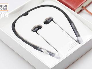 Melodia ta preferată ţi-e şi mai dragă, în căştile Xiaomi Mi Bluetooth Neckband Collar Earphones!