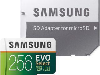 Microsd Samsung Evo Select 256gb