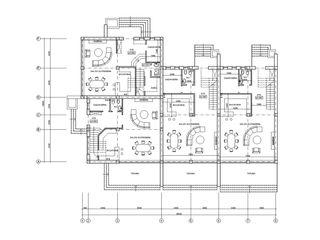 Town House cu 900eur p/u m2