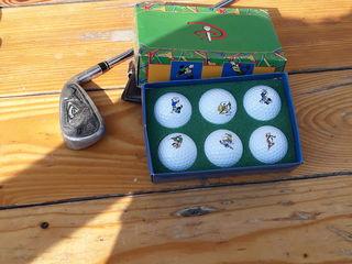 Mingi pentru golf colectsionie