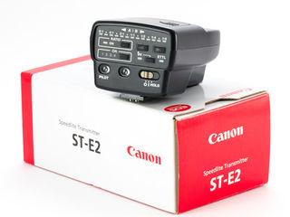Canon speedlite transmitter st e2