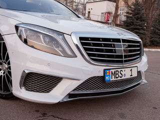 Chirie/прокат Mercedes-Benz S Class AMG Long 2017
