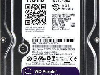 Western Digital Purple 1TB, 2TB, 4TB - гарантия
