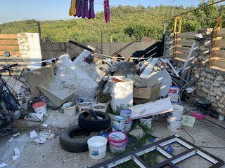 Вывоз мусора - поднятие стройматериалов на этаж / exportăm resturi de construcție