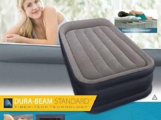 Надувная кровать Intex 64132 (99х191х42см) со встроенным насосом 220В