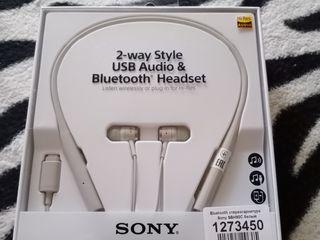 Bluetooth стереогарнитура новая Sony SBH90C