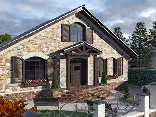 Уютный современный дом 170 м2 из керамических блоков