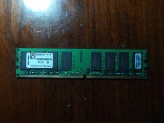 Оперативная память: Kingston DDR2 2 шт. (KVR800D2N6K2 / 8G) KIT OF 2*4gb