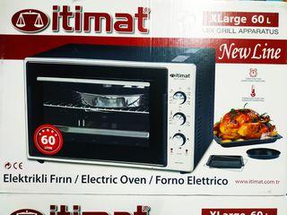 Cuptor electric 60l black, itimat garantie 1 an si livrare rapida  gratis!