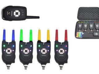 Набор сигнализаторов поклевки с пейджером Hoxwell HL84