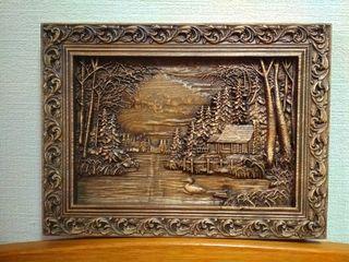 Картина на деревянной основе