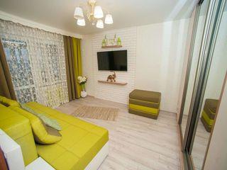 Apartament cu 2 odai, 48m2  Botanica str.Cuza Voda 17/4*top*
