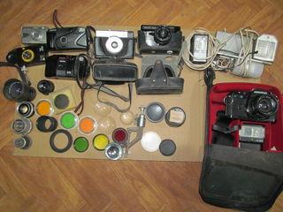 Фотоаппараты,Объективы, светофильтры, Вспышки, свет.