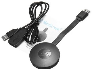 EzMira 2.4G 1080P Wireless HDMI Wifi Display Receiver Mirror Screen Miracast Airplay Media Stream An