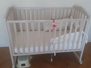 Кроватка Italbaby c матрасом
