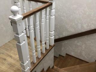 Scări de lux din lemn masiv / лестница - garantie / гарантия