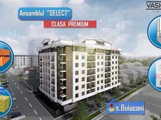 "Buiucani. Alba Iulia Complexul ""Select"", preț 599€/m2, apartament de 42,86 m2. Vasigur Grup"