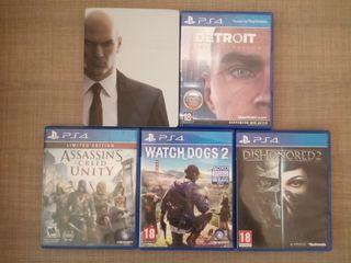 PlayStation 4 Jocuri (vind/schimb)