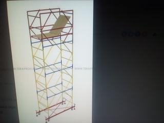 Arenda Schele cu roti,pentru lucrari de interior sau exterior,turnuri,scara transformer,леса