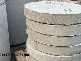 Inele din beton armat ,capace pentru fintini si canalizare, direct de la producator.