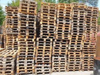 Vindem paleți din lemn / Продаём деревянные поддоны б/у