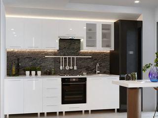 Кухни от 1.2м с фасадами из глянцевых панелей МДФ (High Gloss) Мебельное производство!