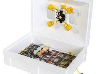 Инкубатор Теплуша 100 яиц ИБ 220/50 ЛМВ (влагомер)/с доставкой на дом бесплатно +гарантия 1 год!!