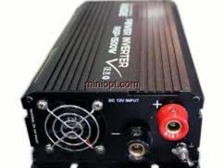 Автомобильный инвертор 1500 W Power Inverter ELITE lux 12/220v, 1700 lei