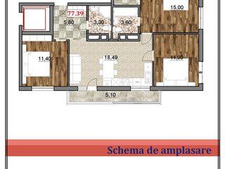 Bloc Ialoveni !! Apartamente spațioase!