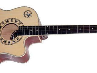 Гитара новая=1420 mdl Chitara nouă. Western Folk Guitar cutaway