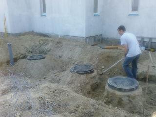 Vsia santehnika,autonomca, vodoprovod canalizatia,rezca asfalita,betona,copaem