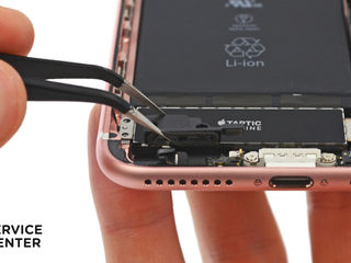 Iphone 7/7+  Не заряжает смартфон, заменим разъем!