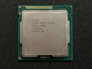 Intel Core i7-2600 3.4GHz (8M Cache, up to 3.80 GHz, LGA 1155)