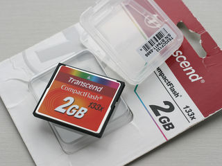 Transcend Compact Flash CompactFlash 2GB 133x карта памяти новая