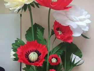 Hand made. Invitatii. Plicuri. Felicitari. Flori gigantice.