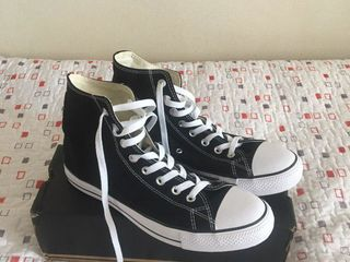 Converse Chuck Taylor Classic Black Hi Top Trainers (UK 9.5 / EU 43) original, noi новые, оригинал