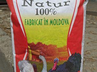 Hrana granulata pentru pui, gaini, prepelita si ratuste si iepuri.