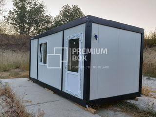 Construcții Metalice Modulare pentru Birouri, Ateliere, Magazine, Cabine de Pază