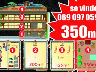 Se vinde 350m2 sub constructie  pentru detalii contactati 069 097 059