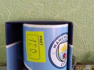 Новые кружки, чашки. Pentru cadouri. Сana cu echipe de fotbal.