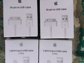 Apple lightning to usb cable (1 m) -  apple 30-pin to usb cable  original OEM(original)