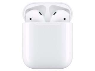 Apple airpods + charging case / белый