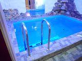 Сауна с тёплым бассейном. Буюканы.