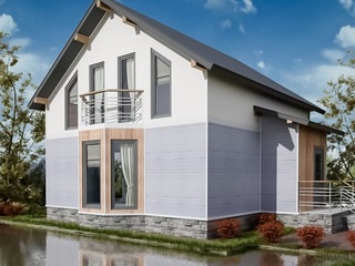 Строительство Сип домов в Молдове. Загородный дом для лучшей жизни